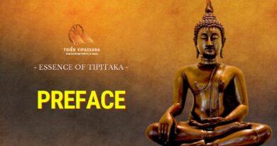 ESSENCE OF TIPITAKA - PREFACE